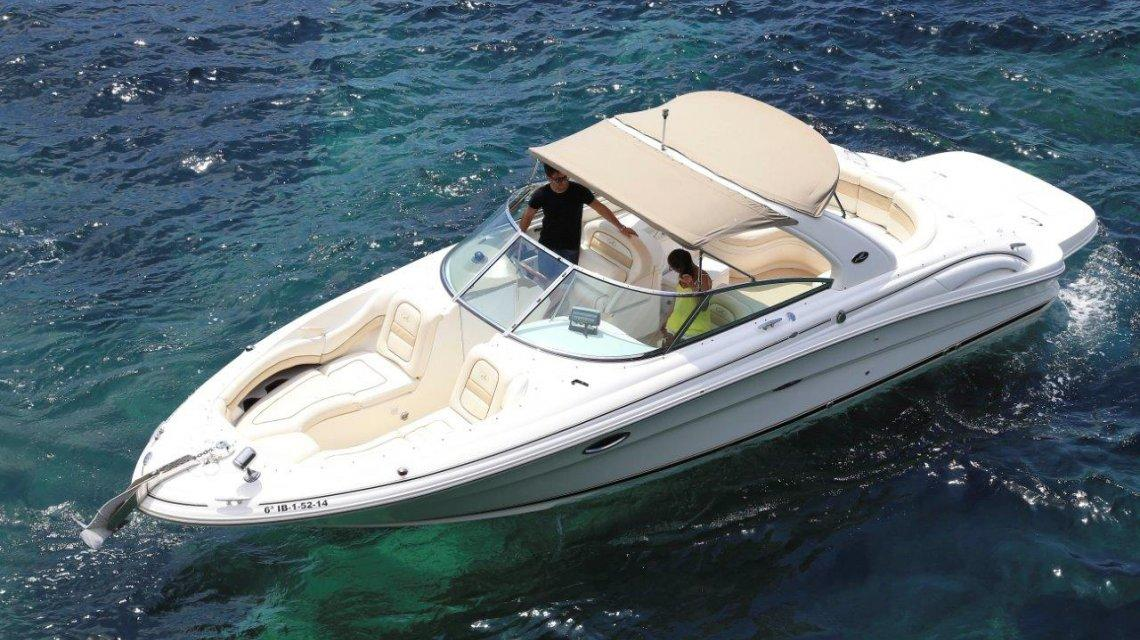 Lancha Sea Ray 290 en Ibiza